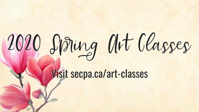 2020 Spring Art Classes ONLINE!