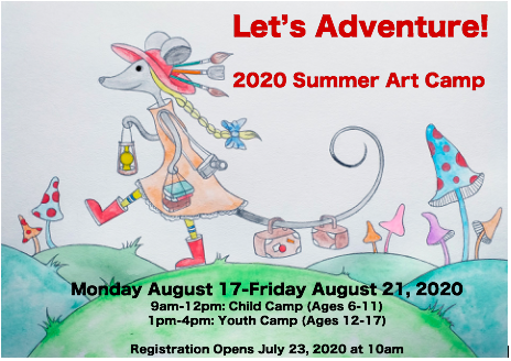 Let's Adventure! Summer Art Camp!