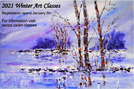 2021 Winter Art Classes