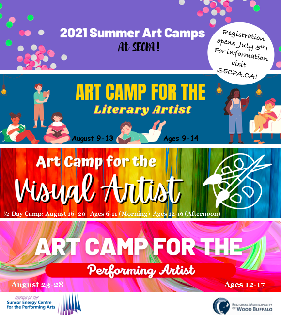 2021 Summer Art Camps