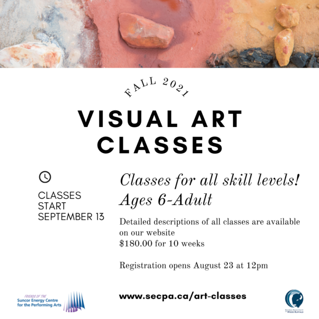 2021 Visual Art Classes (Fall Session)